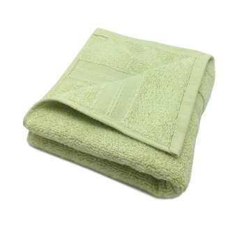 SANTAS ผ้าเช็ดตัว - รุ่น MICRO COTTON Design CLASSIC สีเขียวอ่อน ขนาด 30