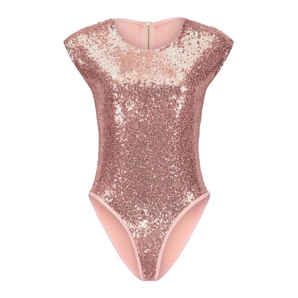e4db4c52ca3 Hot Sale Summer Swimming Costume Bathing Suit Sexy Women Paillette One-Piece  Swimsuit Beachwear Swimwear