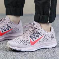 Nike รองเท้า วิ่ง หญิง ไนกี้ Air Zoom Winflo 5 Run Shoe Korea Rose รุ่นยอดฮิตนักวิ่ง นุ่มเด้ง เบาสบายเท้า รับแรงกระแทกดีเยี่ยม ++ลิขสิทธิ์แท้ 100% จาก NIKE พร้อมส่ง ส่งด่วน kerry++