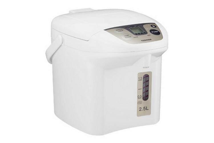 กาต้มน้ำ กระติกน้ำร้อน ร้อนง่าย เดือดเร็ว พร้อมระบบตัดไฟเมื่ออุณหภมิเกินกำหนด ELECTRIC KETTLE กระติกน้ำร้อน ดิจิตอล TOSHIBA PLK-25FL(WT) 2.5L TOSHIBA PLK-25FL(WT)