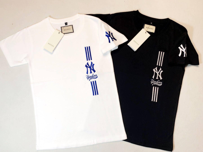 Ny เสื้อแขนสั้น Unisex New Fashion Casual T-Shirt.