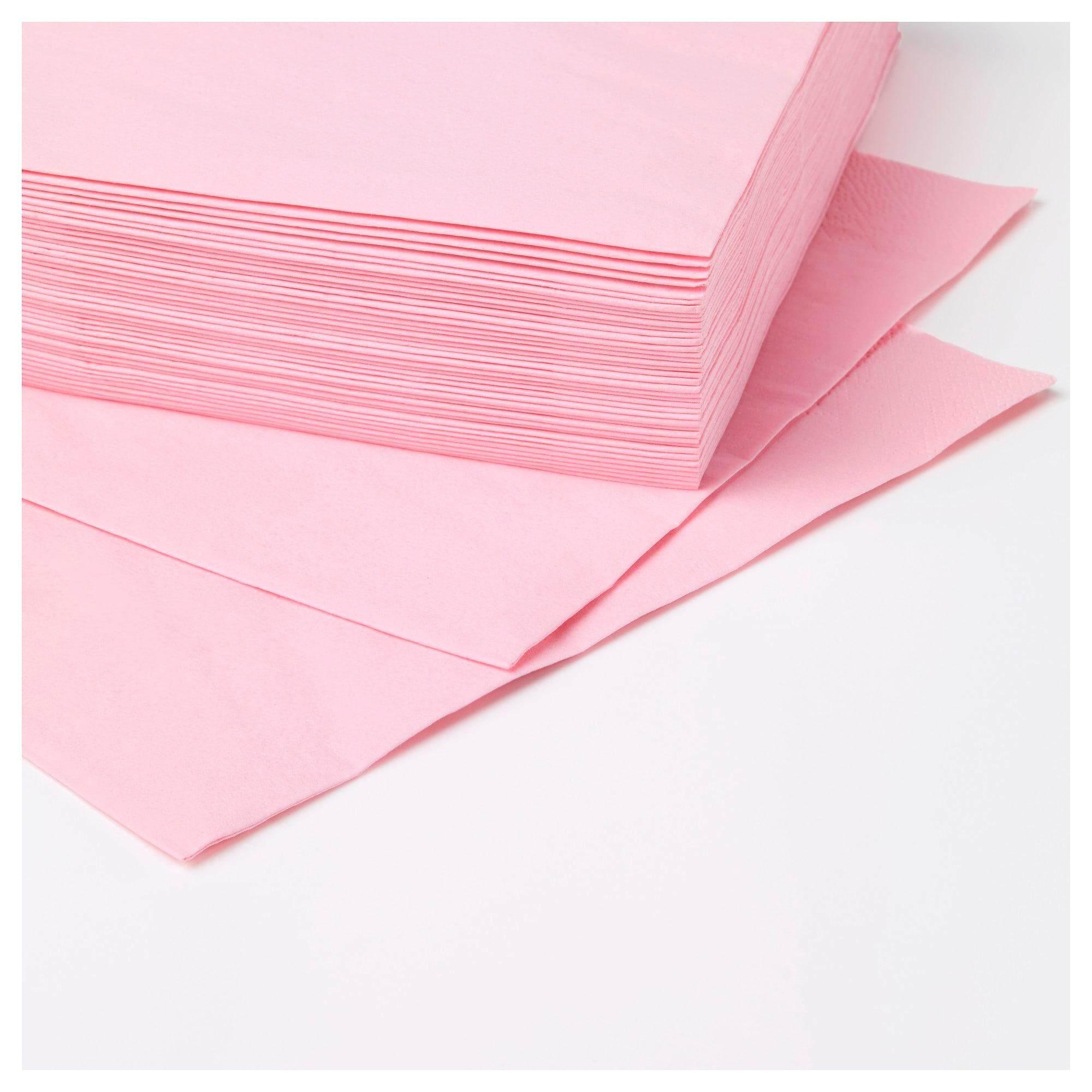 ราคาพิเศษ Fantastisk ฟันทัสติสค์ กระดาษเช็ดปาก ชมพูอ่อน กระดาษเช็ดปากหนา 3 ชั้น จาก Ikea By Spa Land.