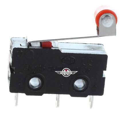 TM1703 1 No 1 NC Momentary Roller Lever Hinge Micro Switch