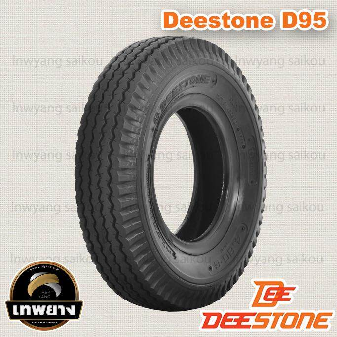 4.80-8 6pr ยี่ห้อ Deestone รุ่น D95 Tt ยางรถ Trailer รถลากจูง By Lnwyang Saikou.