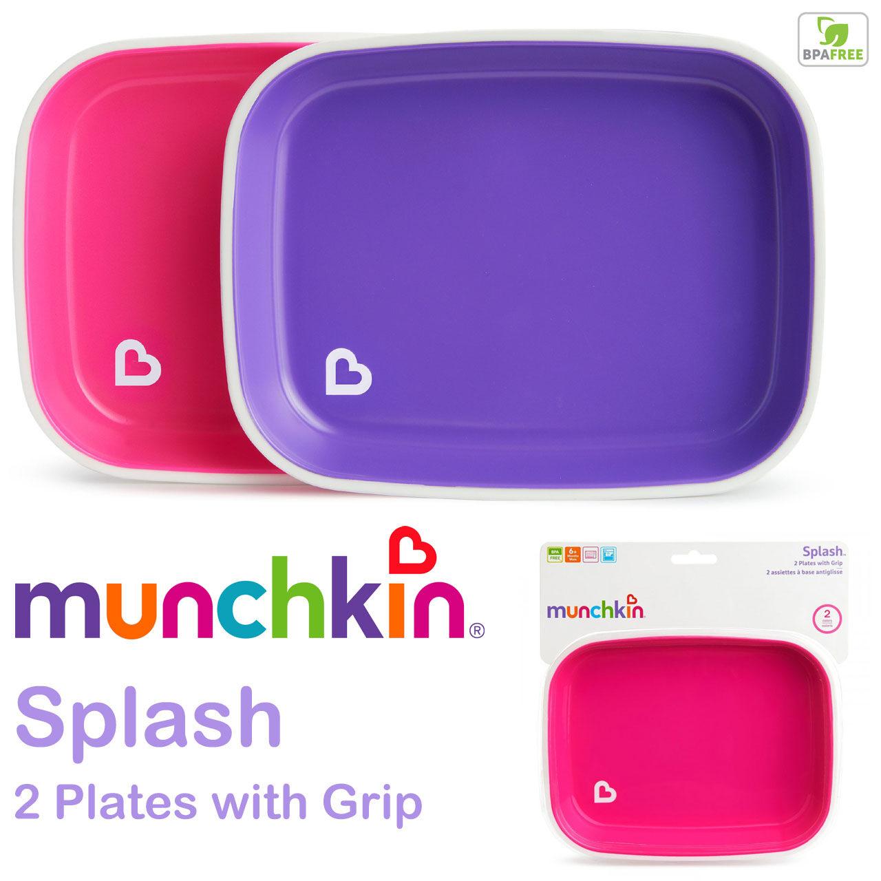 Purple//Green Munchkin 2-Piece Fresh Food Feeder