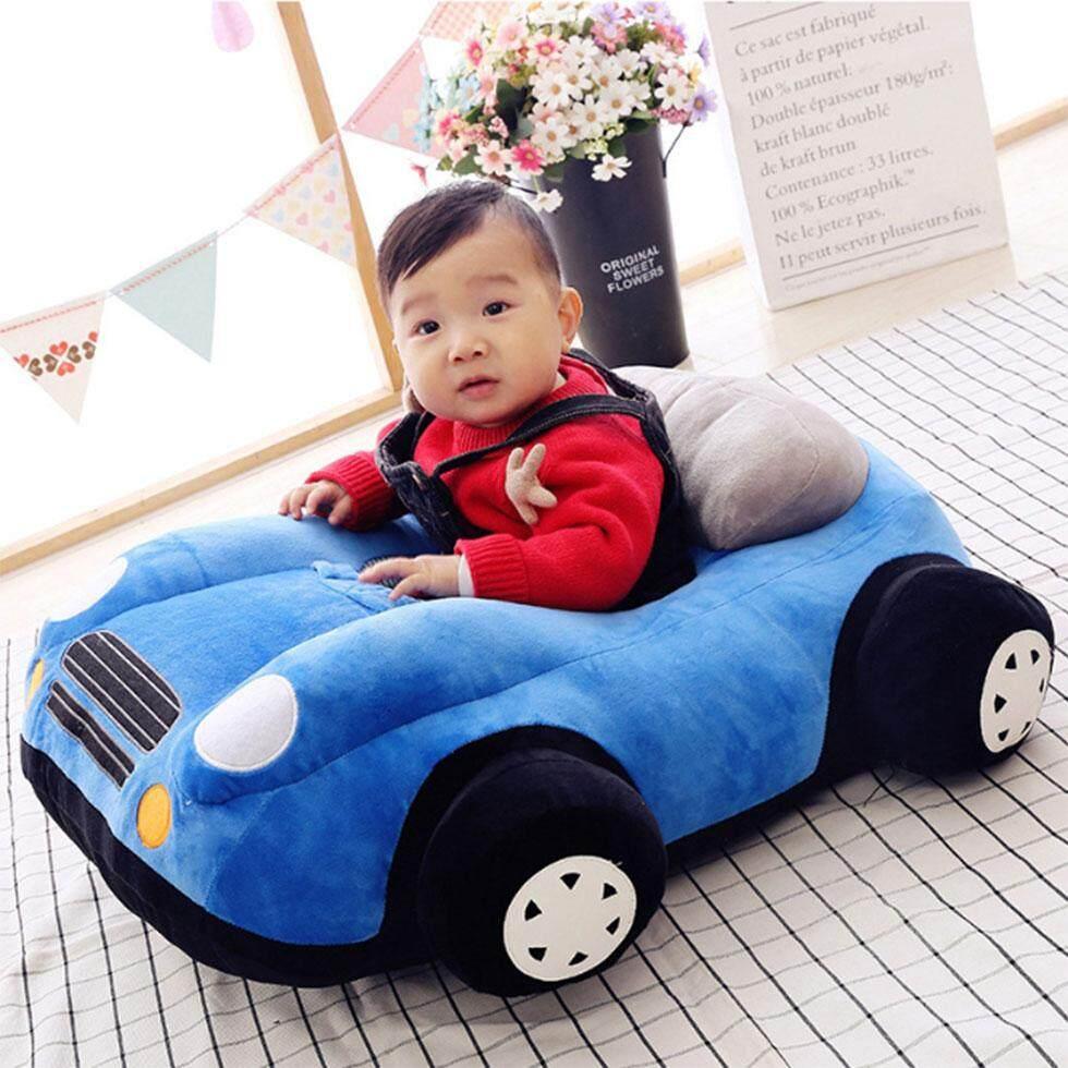 เก้าอี้โซฟาหัดนั่งสำหรับเด็ก ทรงรถแข่ง สีฟ้า แถมฟรีของเล่น(อาจเปลี่ยนแปลงได้โดยไม่แจ้งล่วงหน้า)