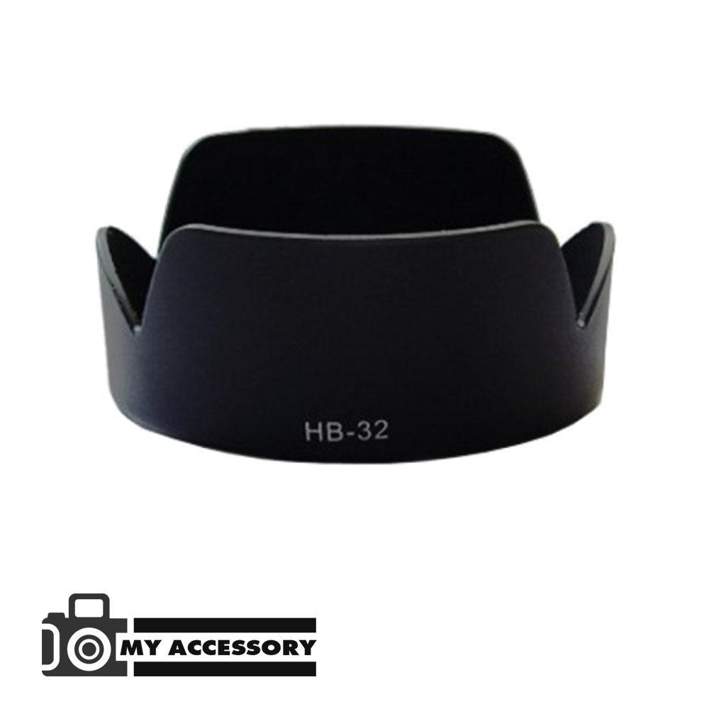 Nikon Lens Hood เทียบเท่า Hb-32 For Nikkon18-105 18-135 18-140.
