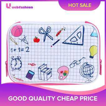 [uebfashion] EVA Cute Stationery Pattern Large Capacity Pencil Case(White) - intl
