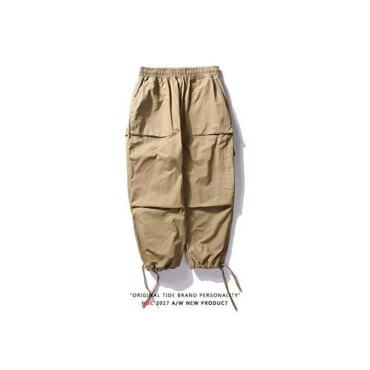 Zzooi 2020 New Hip Hop Joggers Cargo Pants Men Harem Pant Multi Pocket Ribbons Man Sweatpants Streetwear Casual Pantalones Hombre Fall Lazada