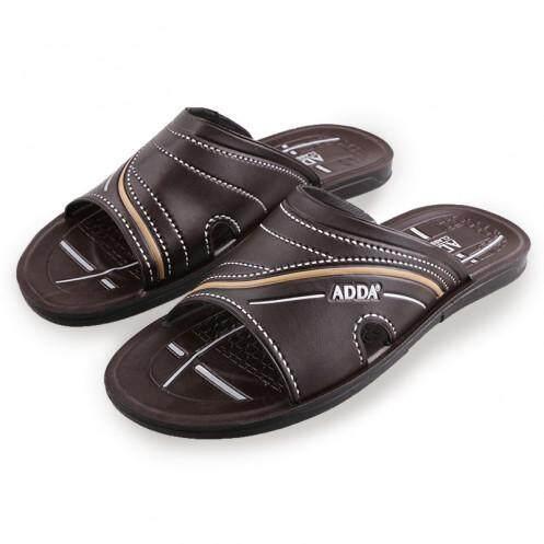 แอ๊ดด้า รองเท้าแตะบุรุษ รุ่น 72P01-M สีน้ำตาล ขนาด 38