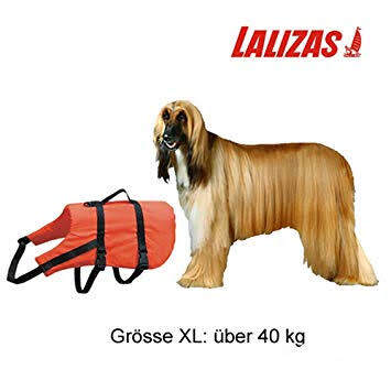 เสื้อชูชีพน้องหมา น้ำหนัก  40 กิโลกรัม Pet retriever buoyancy aid & harness LALIZAS