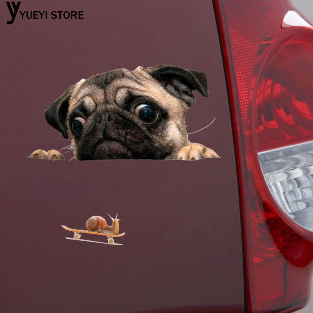Car Decals Car Sticker Car Protection Film Dog 3d Waterproof Universal Diy By Yueyi Store.