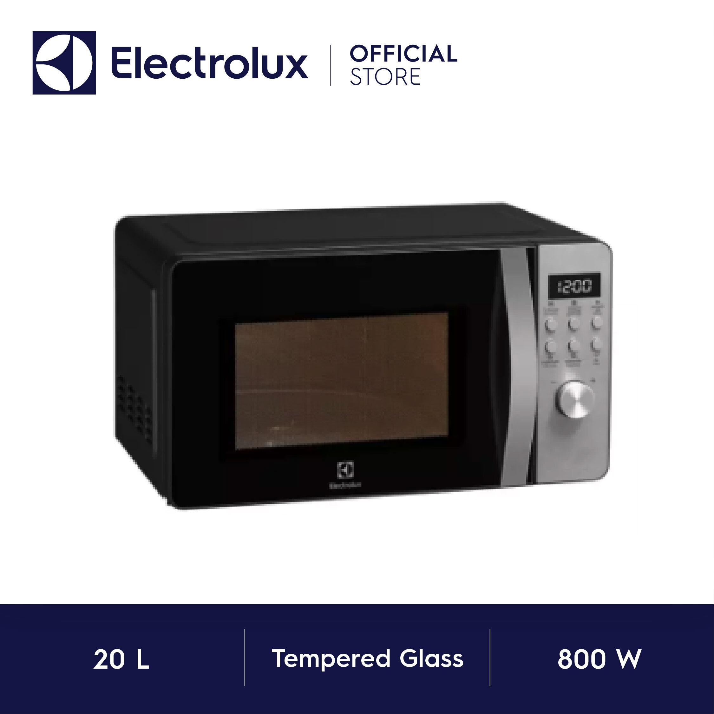 Electrolux เตาอบไมโครเวฟ พร้อมระบบย่าง ขนาด 20 ลิตร รุ่น EMG20D38GB