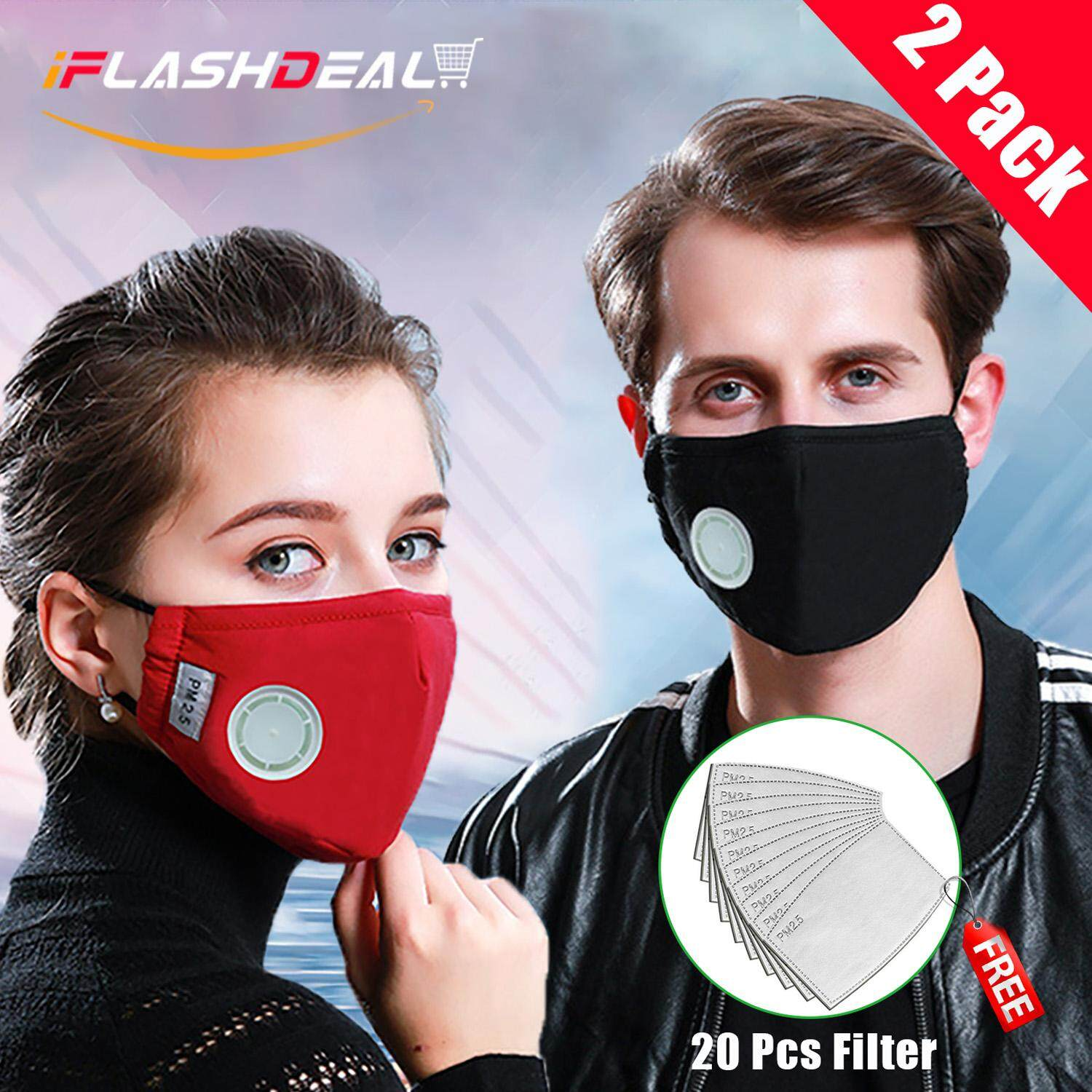New Black Anti Dust Respirator Mask Anti-pm2.5 Filter Activated Carbon Filtration Half Face Mask Reusable Anti-haze Mouth Masks Tool Parts
