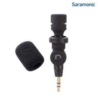 Saramonic SR-XM1 3.5mm TRS Omnidirectional Microphone (DSLR Cameras, Camcorders)