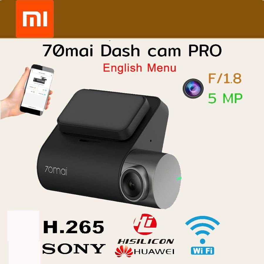 (เมนูภาษาอังกฤษ)Xiaomi 70Mai Dash CAM Pro 1944 จุดรถกล้อง DVR WiFi Voice Control ที่จอดรถ Monitor 140 FOV Dash Camera