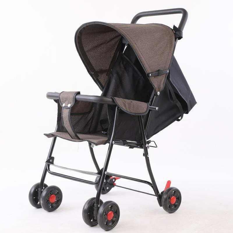 รถเข็นเด็ก ปรับได้ 3 ระดับ น้ำหนักเบา รองรับหนัก (นั่ง/เอน/นอน) ( ใช้ได้ตั้งแต่แรกเกิด )