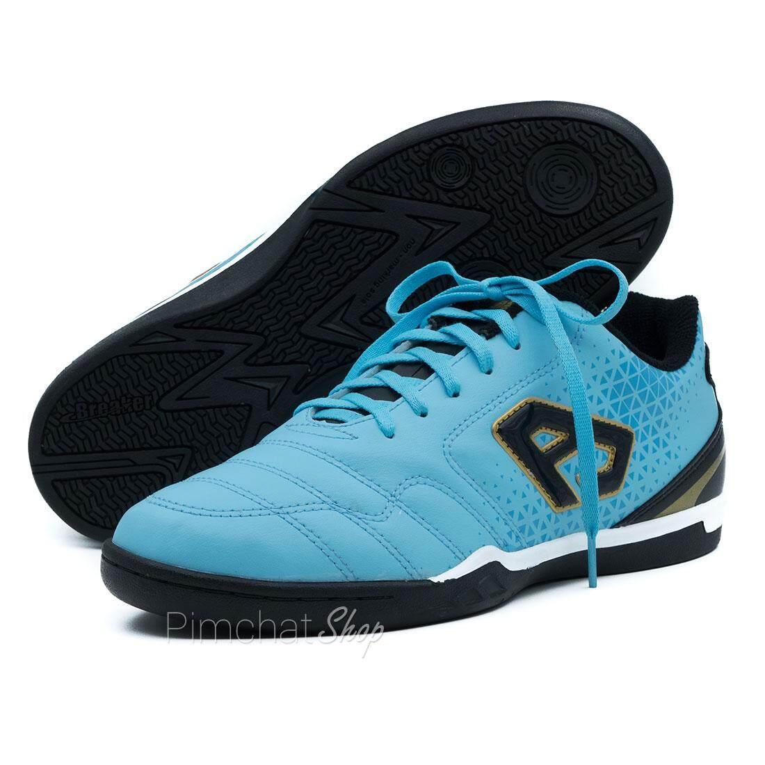 Breaker รองเท้าฟุตซอล รองเท้ากีฬา รุ่น BK117 สีฟ้า