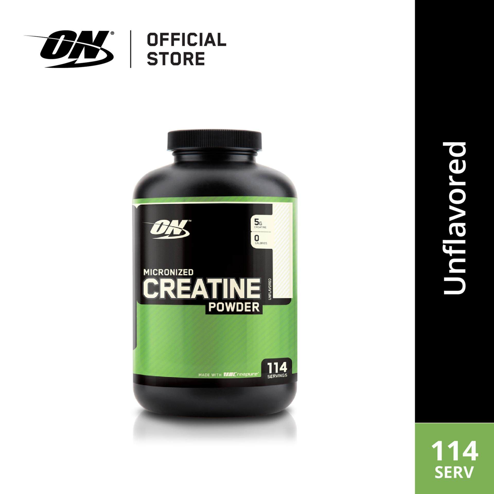 Optimum Nutrition Micronized Creatine Powder 600g By Glanbia Performance Nutrition.