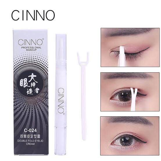 Cinno double eyelid cream ตา 2 ชั้น กาวสำหรับทำตา 2 ชั้น กาวทำตา 2 ชั้น