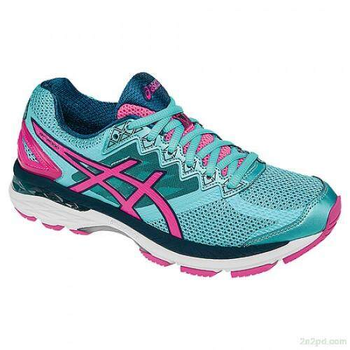 Asics // Gt - 2004 // T656n.4034 // Turquoise/hot Pink/autumn Glory (woman) By Asics Outlet.