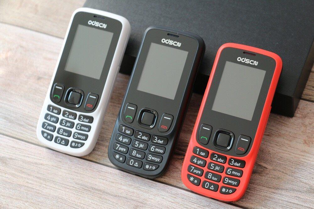 Odscn โทรศัพท์มือถือ รุ่น Nk 6303 ใส่ได้2ซิม (มีคีย์บอรด์ไทย) จอ 1.8 รองรับ 2g/3g/4g ปุ่มกดใหญ่สะใจ กดง่าย เห็นชัด โทรศัพท์ใช้ง่าย ใช้ดี ราคาถูก.