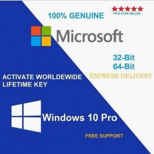 Windows 10 Pro 32bit/64bit คีย์แท้ ใช้งานได้ถาวร (สำหรับ 1 เครื่อง) By Gcodeonline.