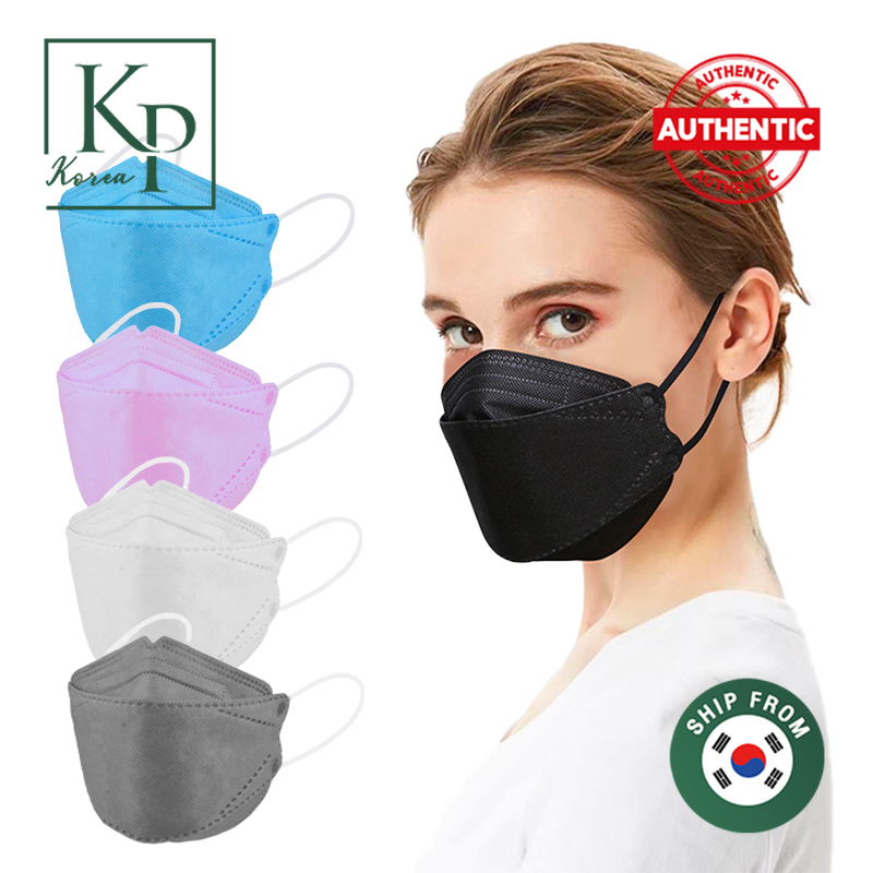 Koreapartners Collection Store 1 ชิ้น หน้ากากอนามัย Kf94 หนา 4 ชั้น Korean Version Facial Mask หายใจสะดวก มี 5 สีให้เลือก.