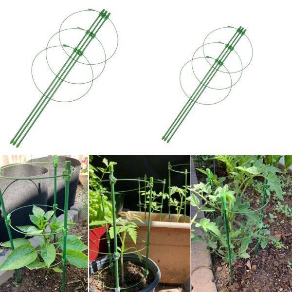 YESMILE Hot Shelf Green Agriculture Trellis Vine Climbing Rack Adjustable Plant Support Frame Gardening Tools