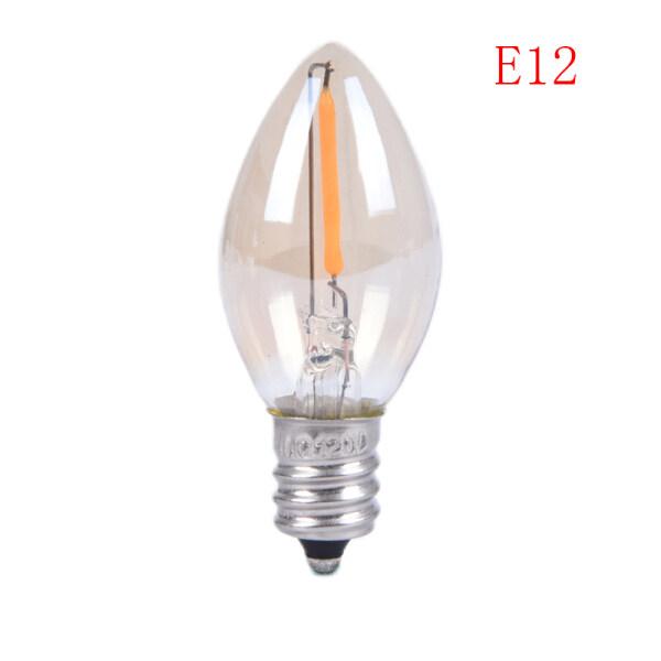 Hoa E14/E12 C7 Bóng Đèn LED 0.5W Đèn LED LED Đèn Dây Tóc Đèn Chùm LED Bóng Đèn Edison Trên Bán