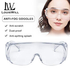 LouisWill Safety Goggles Effectively Anti Infection Eyes Shield Anti Droplets Safety Protective Glasses Protection Anti-fog Anti-splash Sand-proof Goggles Unisex Eye Shield Spectacles Outdoor