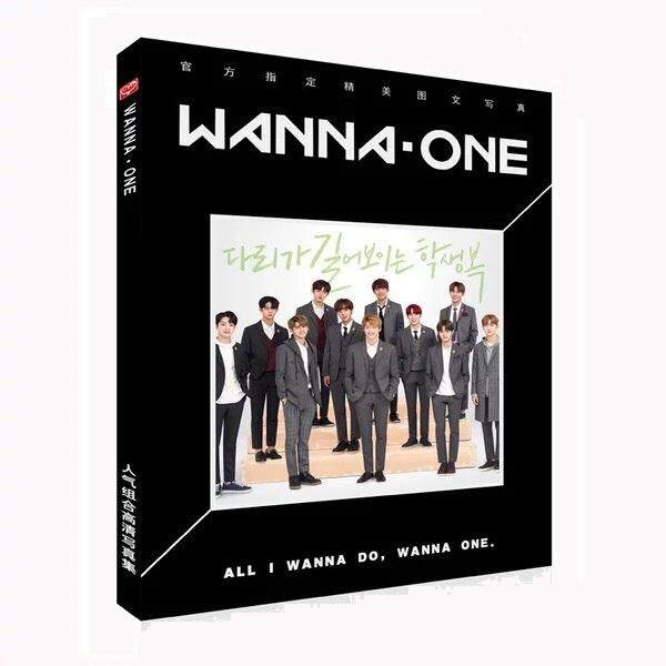 Wanna One Photobook Album โฟโต้บุ๊ค อัลบั้ม By Koji Toy8.