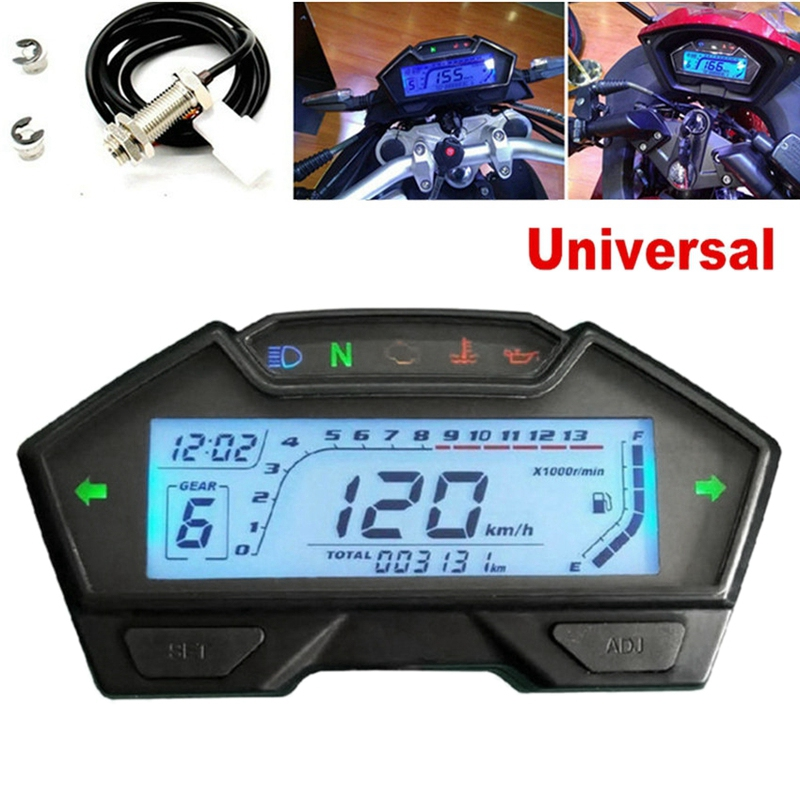 Motorcycle 13000RPM Speedometer