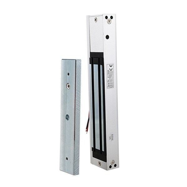 Electronic Door Lock Safurance Single Door 12V Electric Magnetic Electromagnetic Lock 280Kg(600 Lb) Magnetic Lock Access Control System