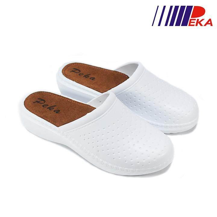 รองเท้าแตะปิดหัว รองเท้าผู้หญิง Peka รุ่น Pk120012.