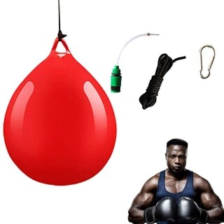 1Pcs Water Heavy Bag with Water Injector Hook Sling Heavy Bag Water Punching Bag for Household Hanging Boxing thumbnail