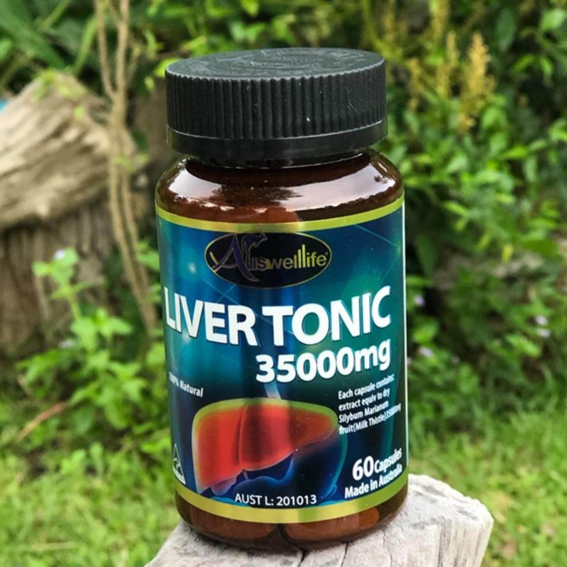 Auswelllife Liver Tonic 35000mg.. วิตามินบำรุงตับ ให้แข็งแรง จำนวน 60 แคปซูล