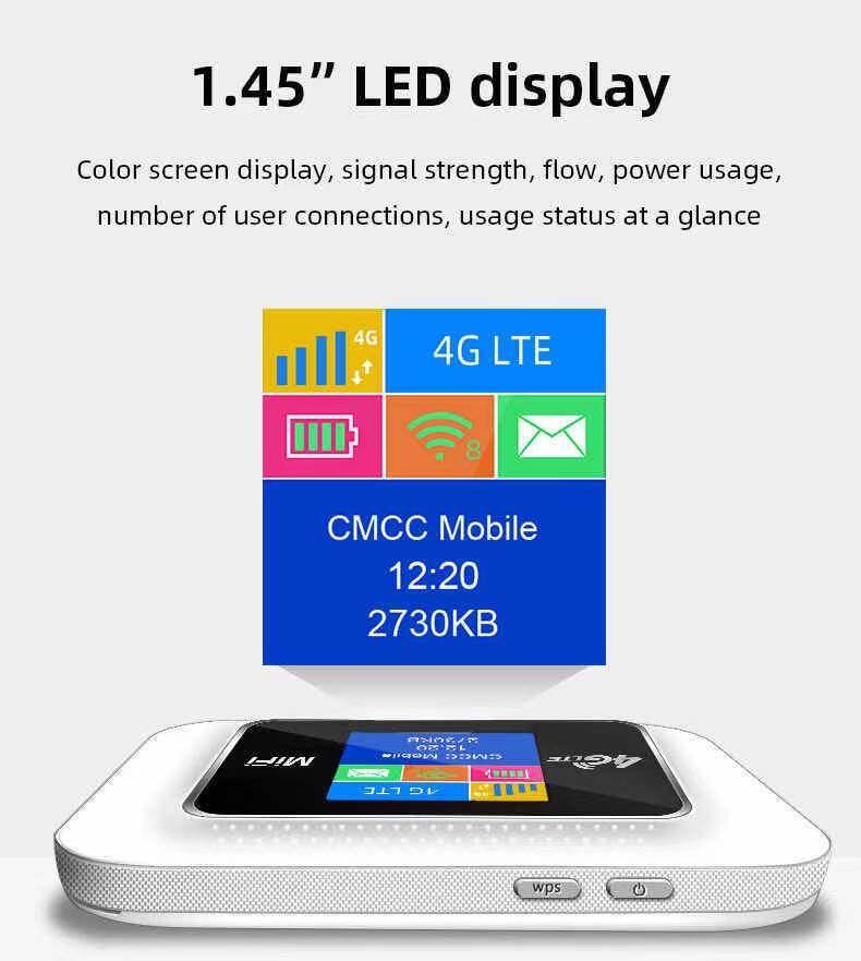 4g Pocket Wifi ความเร็ว 150 Mbps ใช้ได้ทุกซิมไปได้ทั่วโลก ใช้ได้กับ Ais/dtac/true/tot/my By Cat.