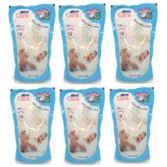 Mind Care น้ำยาซักผ้าเด็ก mind Care ขนาด 700 มล แพ็ค (6 ถุง)-