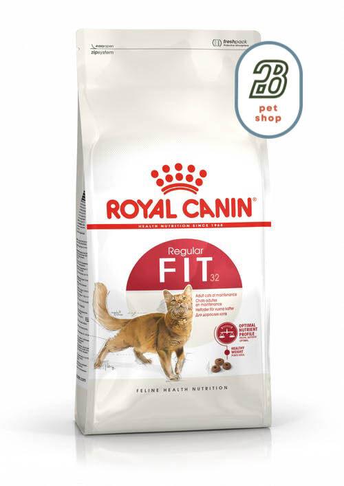 Royal Canin Cat Fit 32 10kg อาหารแมวรูปร่างดี หุ่นดี Fit32 รอยัลคานิน อาหารแมว.