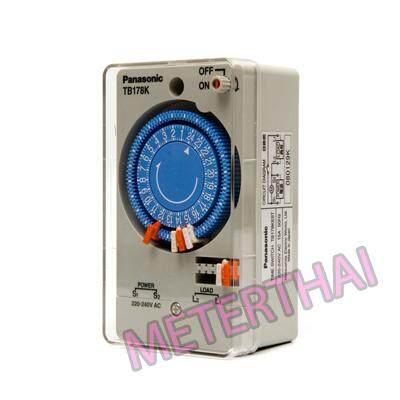 Panasonic เครื่องตั้งเวลาอัตโนมัติ พานาโซนิค24ชม. Time Switch รุ่นtb 178ne5t.
