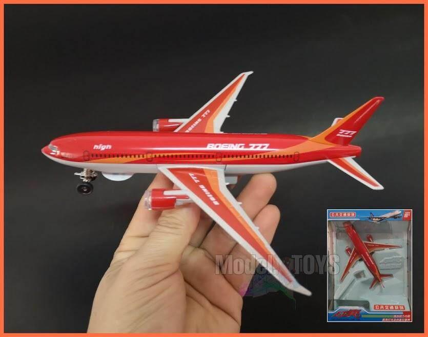 เครื่องบิน โบอิ้ง777 ไขลานมีไฟ เสียง งานสวย By Model.toys.