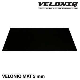 VELONIQ Mat Black 5 mm แผ่นรองเอนกประสงค์สำหรับเทรนเนอร์จักรยานและเครื่องออกกำลังกาย