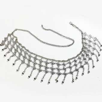 Inspire Jewelry เข็มขัดเทียมเงิน มีสีเงินยวง เงินรมดำ สีทอง สีนาก ให้เลือก สวยงามมากเข็มขัดเทียมเงิน รมดำ สวยงาม ปราณีต ราคาประหยัด ใช้ตกแต่งเสื้อผ้าไทย หรือใส่ประดับ ผ้าซิ่น ผ้าถุง-