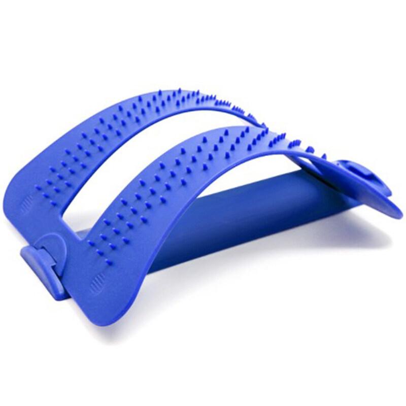 Bảng giá Lumbar Traction Lumbar Vertebrae Lumbar Massager Stretching Massager Home Adjustment Lumbar Support Blue