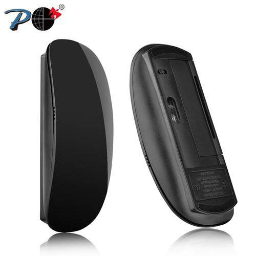 P Wireless Optical Touch Magic Mouse Slim Silent Click Computer Mice Ergonomic 2.4G USB for