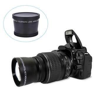 Beauty Wisdom Ống Kính Chụp Xa Chuyên Nghiệp 58 Mm 2.0x + Khăn Lau Cho Canon Nikon Sony Pentax thumbnail