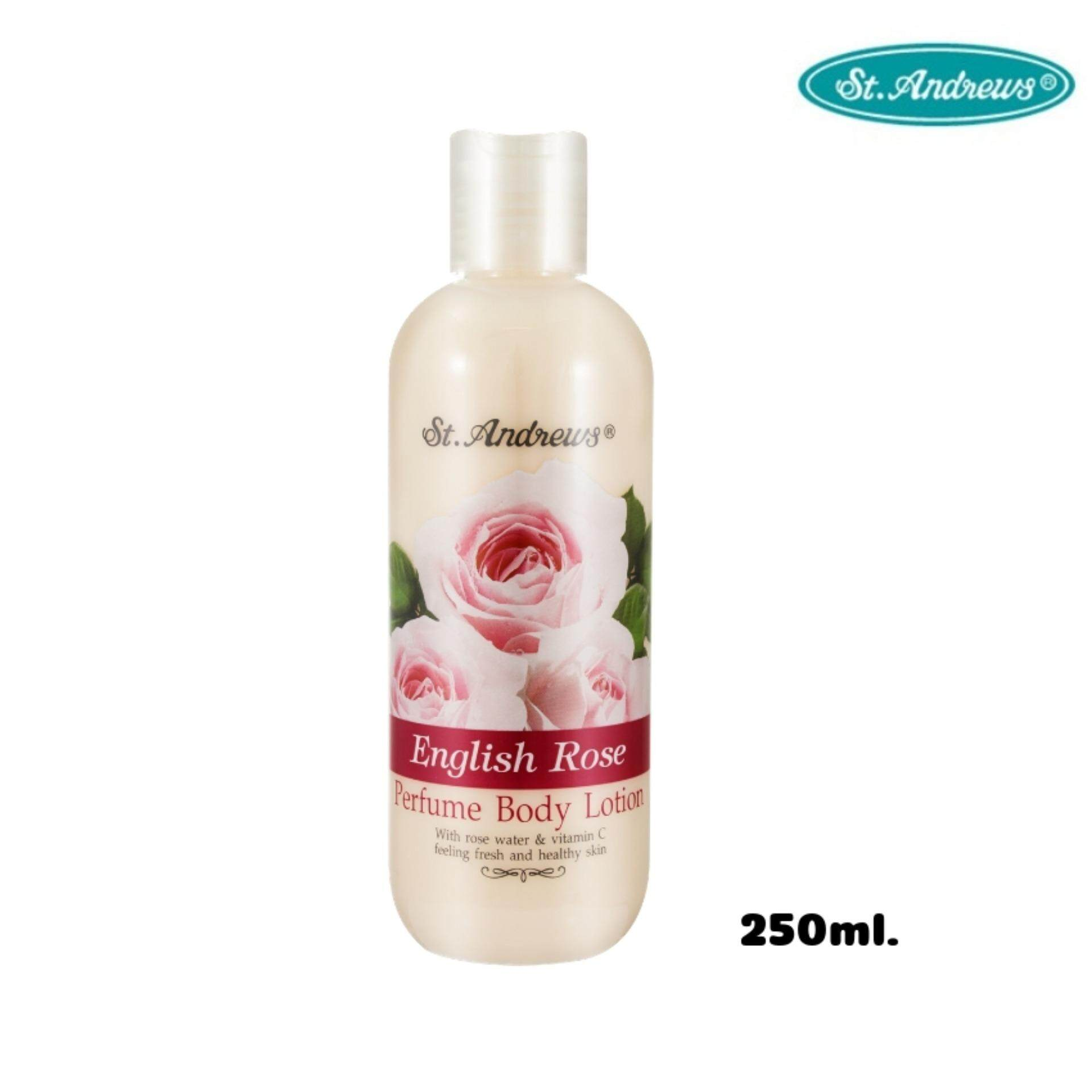 St.andrews Scent Of Floral Body Lotion โลชั่นน้ำหอม 250 Ml. By Bsc Official Store.