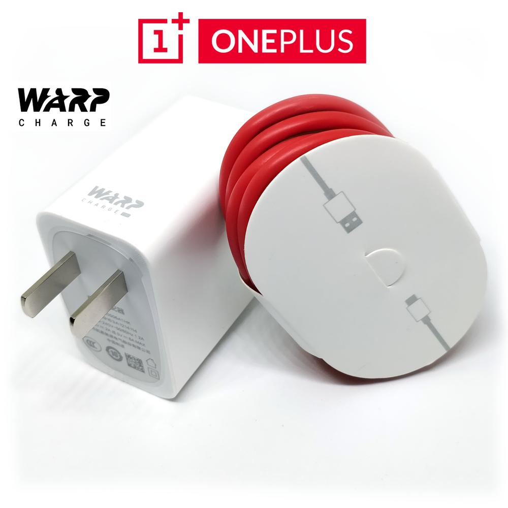 ชุดสายชาร์จ หัวชาร์จแท้ Oneplus Warp Charge 30w Dash Charge แบบใหม่ สำหรับ Oneplus 7tpro / Oneplus 7t / Oneplus 7pro / Oneplus 7.