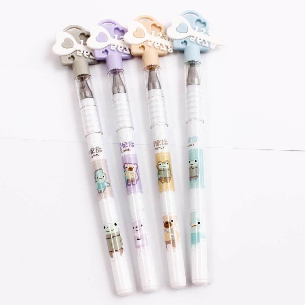 ปากกาเจล ลายการ์ตูน หัวรูปกุญแจ Lovely Friends หมึกน้ำเงิน 0.48มม. น่ารักมากๆ (สั่งซื้อสินค้า 12รายการขึ้นไปส่งฟรี! คละได้ทั้งร้าน) Deal.tique.